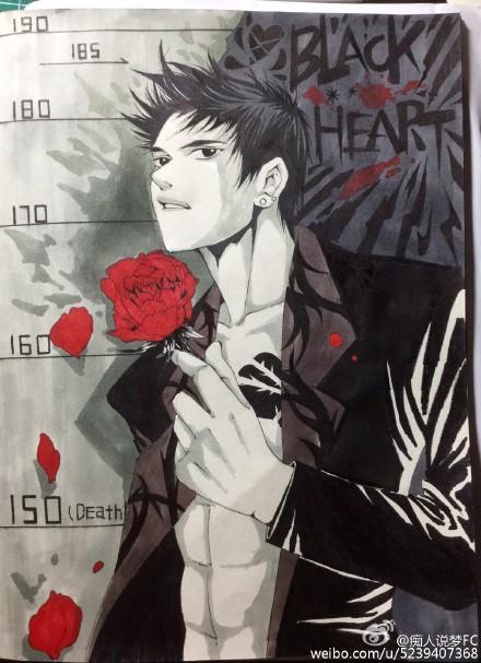 fan art Thiên Huyền, from si nhân thuyết mộng FC@weibo